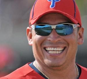Carlos Ruiz Smiling