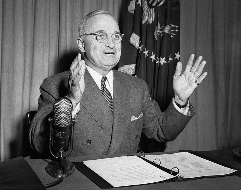 Image result for president harry truman announces japan's surrender